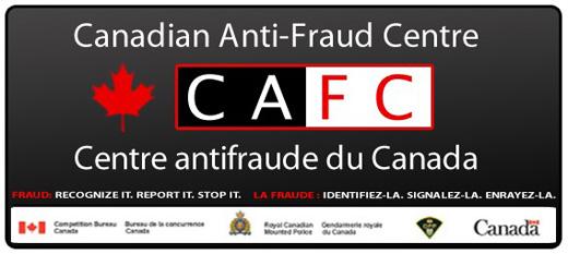 Canadian Anti-Fraud Centre website (CAFC)